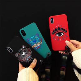 Telefon fall augen online-Hochwertiger Marken Tiger Eyes Telefonkasten für iphone 6S 6 6plus rückseitige Abdeckung für iphone 7 7plus 8 8plus X XS XR XS max