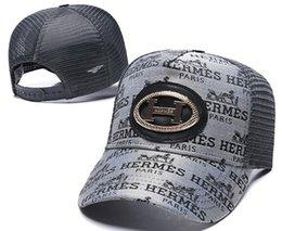 Sombrero de la marca paris online-Nueva marca de diseñador para hombre sombreros Francia París Herme H casquette de gorra de béisbol dios sombreros mujeres hueso Snapback gorras de bola de lujo de alta calidad 00