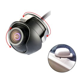 front backup camera Promo Codes - Car Rear View Camera CCD HD Night Vision Reversing Backup Camera Car Front View Side For Front