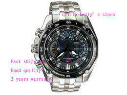 ENVÍO GRATIS NUEVOS relojes deportivos de moda para hombre EF-550RBSP-1AV 550 550RBSP EFR-539BK-1A9V 539BK 539 539D reloj de cuarzo desde fabricantes