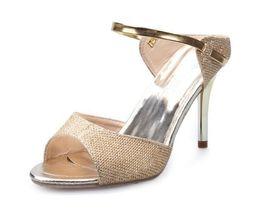 Рыбий стиль обуви онлайн-Новый европейский роскошный стиль классические босоножки на высоком каблуке женская обувь Рыбий рот тонкий каблук высокий каблук сексуальные блестки модные сандали