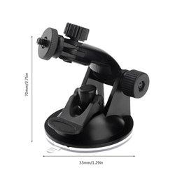fuji fotocamera polaroid Sconti Sucker ventosa macchina fotografica di azione Sport Cam supporto del treppiedi per auto Record basamento del supporto della staffa per GoPro Eroe 7/6/5