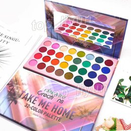 32 colors eye shadow Promo Codes - Take Me Home eyeshadow palette makeup beauty 32 Colors IMEAGO eye shadow matte shimmer eyeshadow palette New Cosmetics free DHL