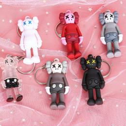 2019 mão de brinquedo faz Boneca Kaws Designer Keychain para sacos na moda Sesame Street Accessoties Toys for Boys Mini Hand-made para o ornamento Bag Hobby coletor de Luxo mão de brinquedo faz barato