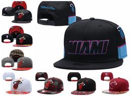 scuola nera degli alti talloni Sconti MiamiCalore Sport Caps UOMINI DONNE GIOVANI MIA 2019NBA Tip-Off Serie 9FIFTY regolabile Snapback cappello di pallacanestro Red