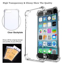 Super Anti-knock Soft TPU Transparente Transparente Funda protectora para teléfono Funda protectora a prueba de golpes Fundas blandas para iPhone 6 7 8 plus X XR XS Max desde fabricantes