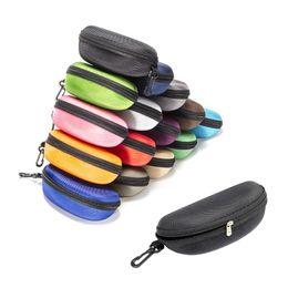 lg he4 baterias Desconto Proteção Sunglass Box Anti Estresse Oxford pano de cor preta com fecho óculos caso Multi Color Opcional Navio grátis DHL
