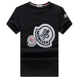marcas t shirt francês Desconto 19 T Nova moda casual Mon Marca dos homens T-shirt do verão T-shirt Britânico Francês de manga curta T-shirt dos homens Hommes slip