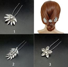 corona india de cristal Rebajas 12PCS Rhinestones Hair Chignon Pins Fascinators para mujeres, hermoso decorativos casco pinzas para el cabello banquete de boda accesorios para el cabello todos los días