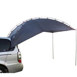 car canopy Desconto Barraca de acampamento impermeável exterior do toldo do carro do abrigo de Sun da barraca de acampamento do dossel de TY