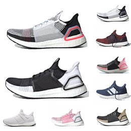 533ed403e6596 2019 New Ultra Boost 19 Mens Women Running Shoes Cloud White Oreo Clear  Brown Refact Ultra Boost 4.0 5.0 Sports Outdoor Walking Sneakers