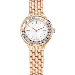 Assista a sorte on-line-Venda quente Mulheres relógio de sorte Rolando diamantes Rose Gold Lady Relógio de Pulso de Luxo de Quartzo Vida À Prova D 'Água Luminosa mãos preço de Atacado navio Livre