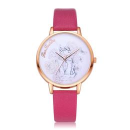 2019 relógios de pulso moda feminina New Elegante Rodada Dial Quartz Relógios De Pulso Das Mulheres Femininas Senhoras Relógios De Pulso De Couro Macio Cinto relógios de pulso moda feminina barato