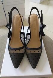 sandalia tendencia casual Rebajas CON CAJA Mujeres de la marca de impresión de charol Bom Dia Mule En la tendencia de la diapositiva de la sandalia Diseñador Señora Colorido Lona Anatómica suela de cuero Zapatilla