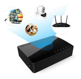 Canada Tenda SG105 Mini Commutateur Gigabit de bureau / Commutateur réseau Fast Ethernet Hub Hub LAN / Exchange complet ou semi-duplex Offre