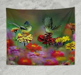 Tappezzeria da muro per appendere gli uccelli del giardino di fiori della stuoia della coperta della camera da letto degli Stati Uniti cheap gardening mat da stuoia per giardinaggio fornitori