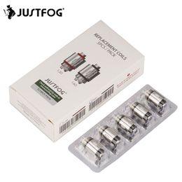2019 atomiseur 5pcs 5pcs JUSTFOG Core Core Head 1.2ohm 1.6ohm pour Justfog C14 Q14 Q16 P16A P14A Kit Atomiseur Cigarette Vape Kit électronique promotion atomiseur 5pcs