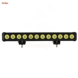 "15 atv online-Vendita calda 23 ""Inch Single Row 120W LED Light Bar per Offroad 4 * 4 SUV ATV Tractor Boat 12V 24V"