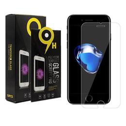 Canada Pour iPhone XS MAX Galaxy A8 2018 Protecteur d'écran 9H Dureté En Verre Trempé Pour iPhone XR Protecteur Film Moto E5 En Boîte De Détail Offre