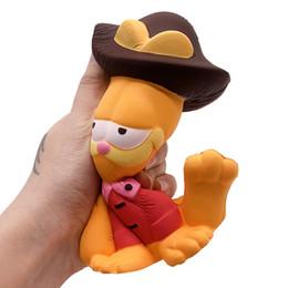 Katze handy-charme online-20pcs Squishy Spielzeugkatze 16 * 13cm seltenes squishy PU-weiche Jumbo Handy-Bügel-Charmekind-Jungenmädchengeschenkgroßverkauf FREIES VERSCHIFFEN