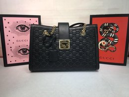 Deutschland Top-Qaulity 479197 Italien Designer-Mode Handtaschen Vorhängeschloss G-G Unterschrift Tasche Seidenfutter mit Staubpaket Freies Shiping Größe 35..23..14cm Versorgung