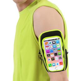 Canada Téléphone Cas 5.5-6 pouce iPhone Plus Écran Tactile Courant Brassard Bras Sacs Étanche Sport Mobile Téléphone Titulaire Bras Bande Cas Offre