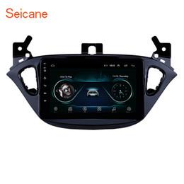 Rádio para carro opel gps on-line-8 polegada Android 8.1 Carro GPS de Navegação GPS para 2015-2019 Opel Corsa / 2013-2016 Opel Adam com Bluetooth HD Touchscreen suporte AUX Carplay