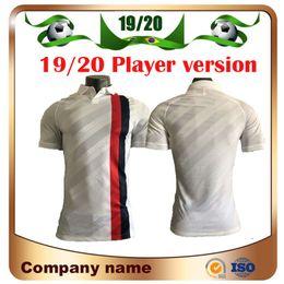 camisetas de neymar Rebajas 2020 Player version PSG # 7 MBAPPE Soccer Jersey 19/20 Paris Tercero # 10 NEYMAR JR soccer shirt VERRATTI CAVANI 3rd Uniformes de fútbol
