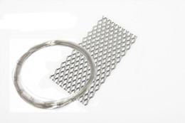 Titan-mesh-platte online-Freies Verschiffen-Platin-Titan-Ineinander greifen-Rohr-Kathodendraht-Stift-Überzug-System-Galvanisierungs-Maschinen-Zusatz-Satzschmucksachewerkzeuge