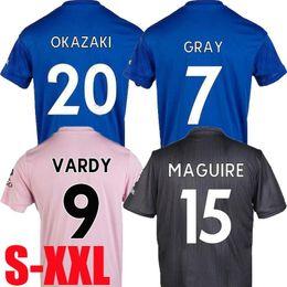 2019 camiseta de fútbol naranja Mejores ventas 19 20 Leicester Camisetas de fútbol City MAGUIRE 2019 2020 VARDY Camiseta de fútbol GREY MADDISON Camiseta de fútbol TIELEMANS Jersey S-XXL camiseta de fútbol naranja baratos