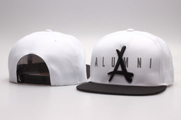 Tha alumni cap weiß online-Heißer verkauf weiß schwarz tha alumni snapback hüte snapbacks hüte hip hop snap back hut street snap backs hüte mode männer frauen caps yp_4465