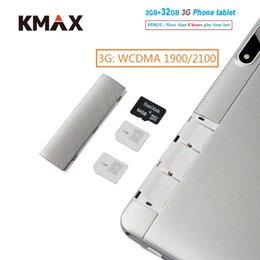 2019 compresse wifi a buon mercato KMAX 10.1 pollici 3G Phone chiamata Android Tablet PC 2GB DDR3 32 GB wifi Quad Core Dual Camera Tablet 10 7 8 9 Tastiera tastiera economica sconti compresse wifi a buon mercato
