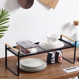 Canada Nouvelle Cuisine Rack De Stockage De Fer Aromatisant Plateau Organisateur pour Cuisine Salle De Bain Outil Pratique livraison gratuite Offre