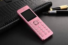 Celulares cdma on-line-2019 CDMA 800MHz pequeno Telefone Stereo Voz Bluetooth Headset Chamando Celular Handsfree CellPhone metal Mini Mobile Dual SIM câmera HD 1500mAh