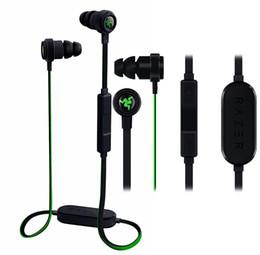 2019 téléphone portable moins cher Razer Hammerhead BT Bluetooth InEar Écouteurs Casque Avec Microphone Boîte Au Détail Gaming Headset Isolation De Bruit