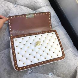 голые дизайнерские сумочки Скидка жара! W322 многоцветный кожаный шить сумка Сумка люкс V дизайнер вдохновение ню черный кофе белый мешок взлетно-посадочной полосы классический 24 * 7.5 * 16 см