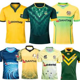 Camicia di storm online-2018 2019 AUSTRALIA WALLABIES JERSEY 18 19 magliette da rugby maglie da baseball melbourne