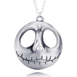Lol encanto online-Charm Collares Noche de Navidad Collar de fantasma de Taro LOL Collar de boca grande Colgante DIY Joyería para hombres jóvenes