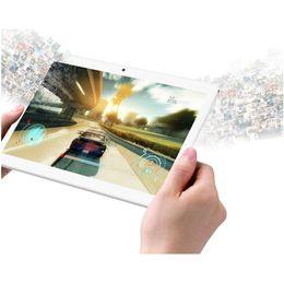 Tablet pc android 5.1 on-line-10.1 polegadas MTK6582 Quad Core Android 5.1 WCDMA 3G desbloqueado telefonema tablet pc 1280 * 800 IPS tela Dual Camera SIM 1 GB 16 GB
