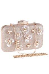 berühmtheiten taschen Rabatt Handgemachte blumen perlen braut handtaschen frauen handtaschen für abend prominente damen schminktäschchen mit kette