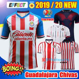 3b7e19e66 NEW 2019 2020 LIGA MX Club Chivas de Guadalajara Soccer Jersey 18 19 20  Camisa de Futebol Home Third Jerseys PULIDO Football Shirts Kit