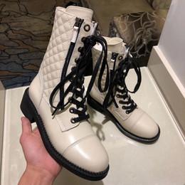tacones de navidad Rebajas 2019 Navidad moda de lujo diseñador de lujo zapatos de mujer tacones altos botas de diseñador altas para ayudar a las botas de nieve de invierno para mujer zapatos de trabajo 0816