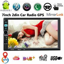 Android hd screen онлайн-Android 8.1 Автомобильный DVD Стерео GPS 7 '' HD-экран FM-радио Головное устройство WI-FI НЕТ DVD-плеер