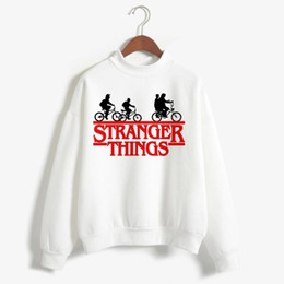 stranger things Dropship Hoodies Männer Frauen Art und Weise Baumwolle Männer Pullover Rosa Sweatshirts ST Herbst Fremder Thing Hoodie Kleidung