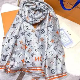 Canada Foulard en soie d'été pour les femmes Marques Design Mens écharpe à carreaux chaud mode femmes imitent écharpes en laine de cachemire 180x90cm livraison gratuite Offre