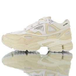 ec2ee499c New Arrival Top Quality Raf Simons x Ozweego 2 II Bunny Cream White Men  Women Running Shoes Street Sneakers Size EUR 36-45