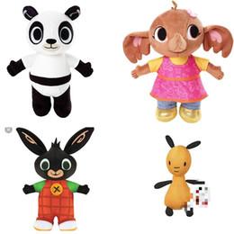 Argentina Bing Bunny Peluche Juguete Sula Flop Hoppity Voosh Pando Coco Peluche Muñeca Juguetes de peluche Conejo Muñecas para niños Cumpleaños Regalos de Navidad cheap panda stuff toys Suministro