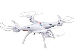 Helicópteros reales online-SYMA X5SW WIFI RC Drone Dron 2.4 GHz 4CH Tiempo real HD FPV Cámara RC Helicóptero Drones 6 Eje Quadcopter Gyro Quad helicóptero