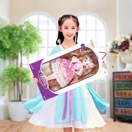 baby schöne puppen Rabatt 38cm super große Baby-Puppe-Geschenk-Set schöne Hochzeit Prinzessin Puppen 5 Arten Bewegliche Gelenke Mädchen Puppen des Mädchens Weihnachten Geburtstagsgeschenk Spielzeug