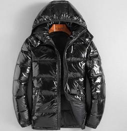 2020 chaqueta de invierno de cuello alto de los hombres Escudo para hombre de la moda otoño invierno chaquetas rompevientos Escudo Marca Escudo de la cremallera de alta calidad de las chaquetas Parkas Sport Plus Tamaño Ropa de chaqueta de invierno de cuello alto de los hombres baratos